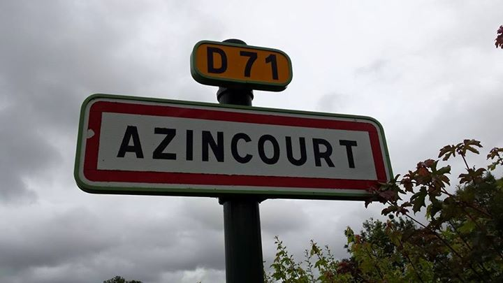 Academic team visits the site of the Battle of Azincourt