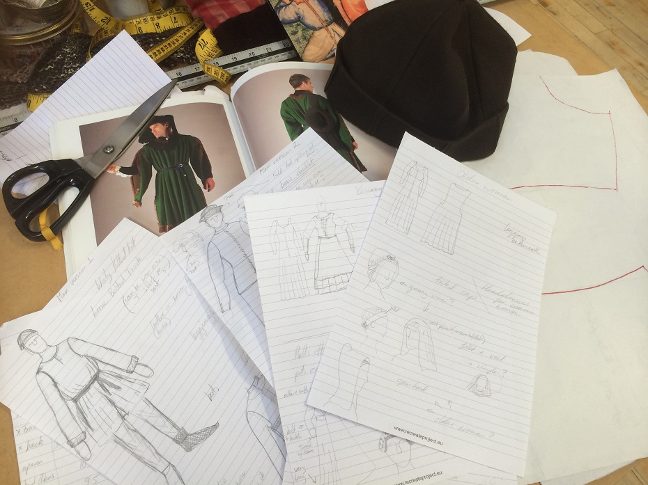 Artist designs costumes for new Agincourt play