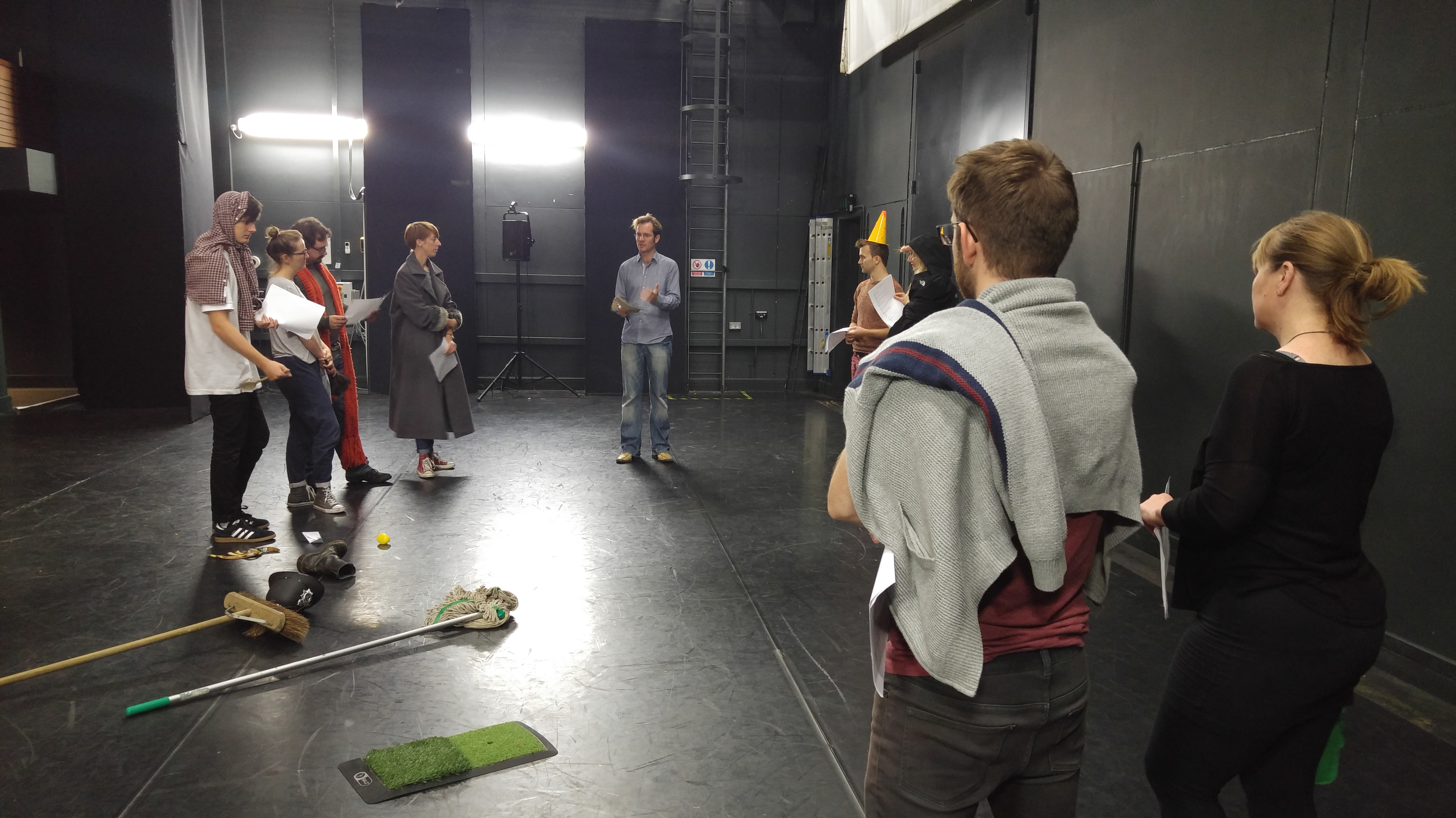 Royal Shakespeare Company Hosts Workshop At The Berry Theatre