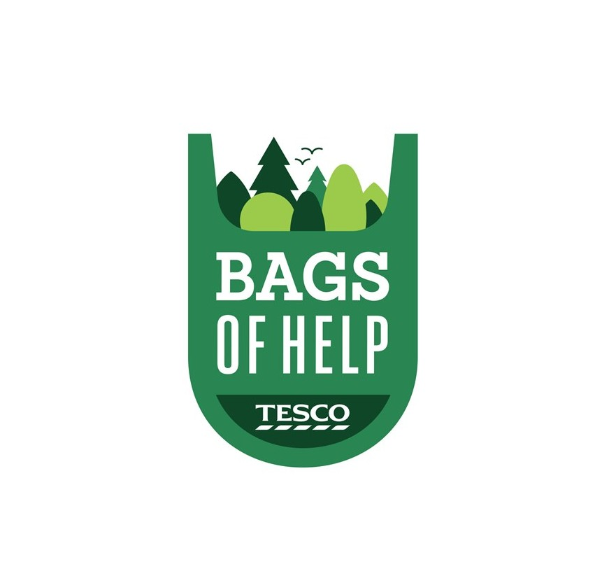 Blaze a trail and make history! We need your vote – Tesco #BagsofHelp