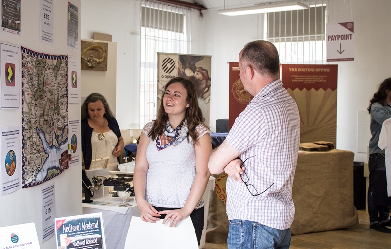 Harry's Hampshire Showcases at Sorting Office Open Studios